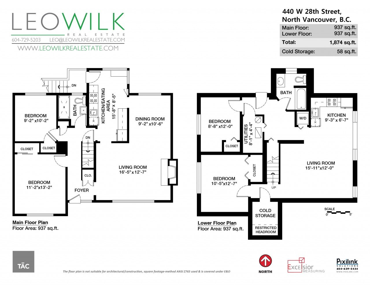 Marketing Your Home W Floor Plans More Leo Wilk Real Estate