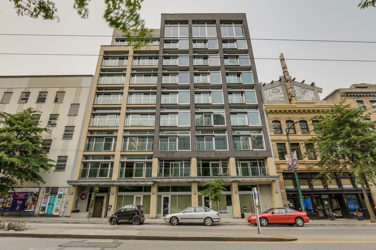 #404 – 33 West Pender Street, Vancouver (Tinseltown)