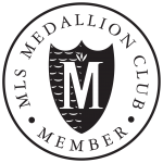 MLS Medallion Club President's Club Member Badge