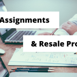 GST on Assignments and Resales